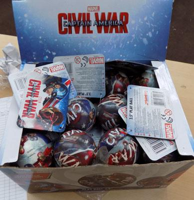 Civil War Marvel balls