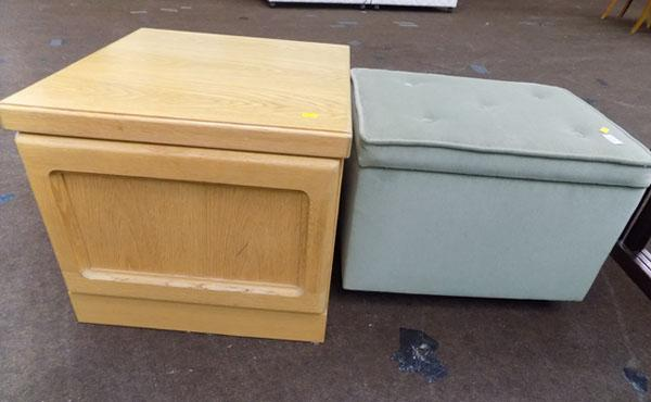 Sewing box & table