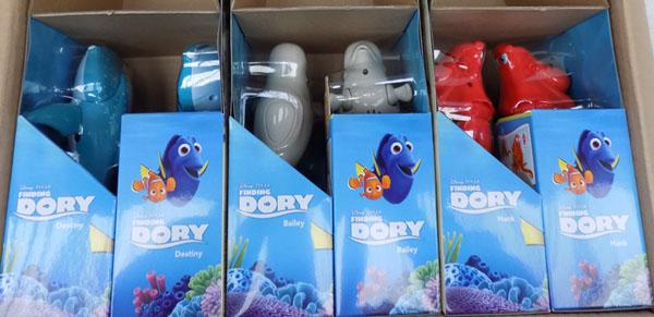 Box of Dory figures