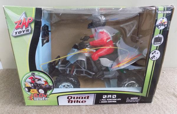 Zap toys Quad bike in box