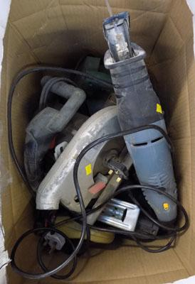 Job lot of electrical tools-sold as seen