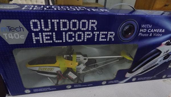 Remote controlled Helicopter (needs attention)