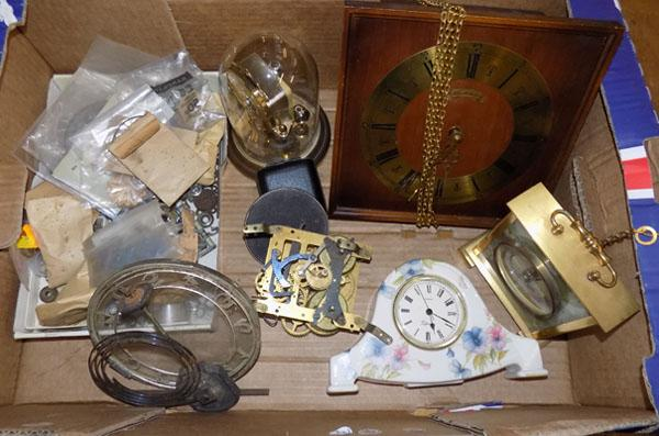Clocks & clock repair parts