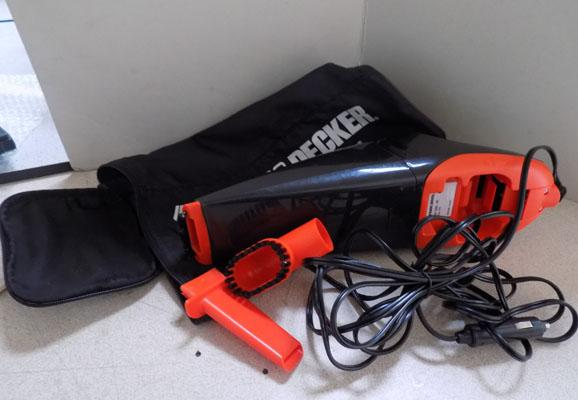 Black & Decker dust buster car vacuum