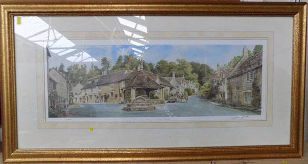 Limited Edition print Geoff Butterfield 5/500 & 1 oil painting