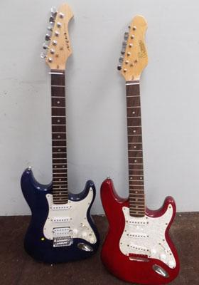 2x Guitar bodies Aria & encore