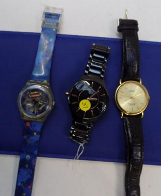 2 gents and 1 ladies watch - no boxes