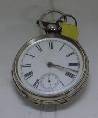 Solid silver 935 pocket watch