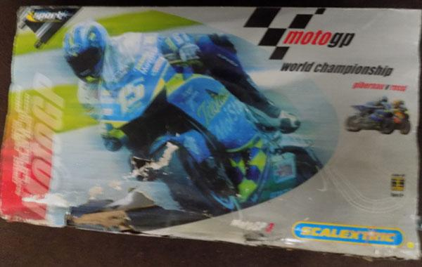 Scalextric world championship moto GP3 set - complete (outer box)