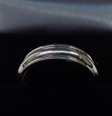 925 silver spinner ring approx. size P