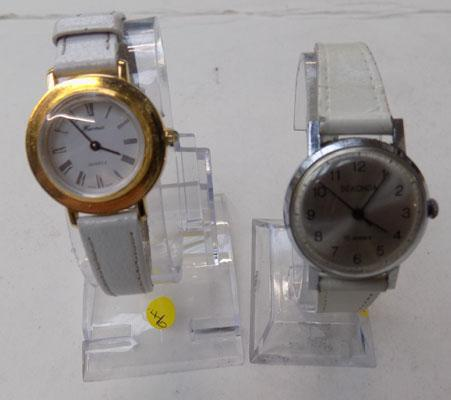 Two ladies watches, incl. Sekonda
