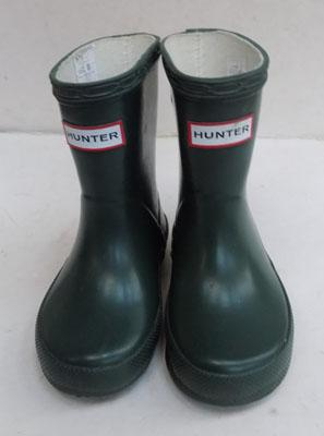 Child's Hunter wellingtons size 4