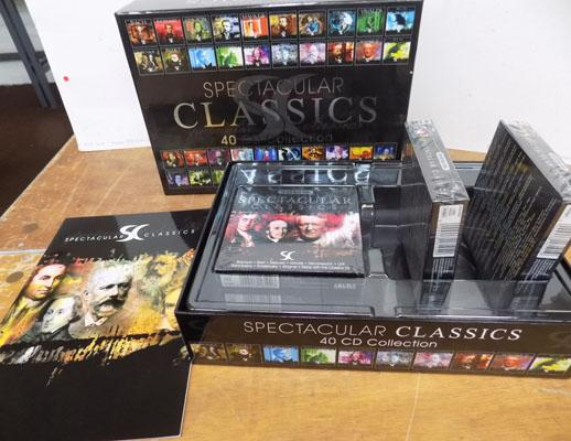 New boxed, 40 CD, classical selection