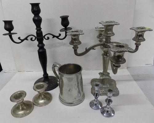 Selection of plated ware