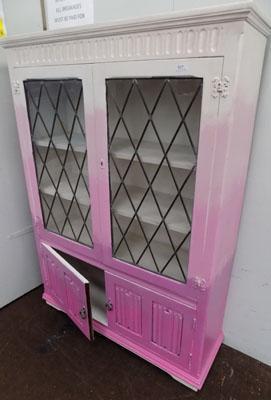 Shabby chic style display cabinet