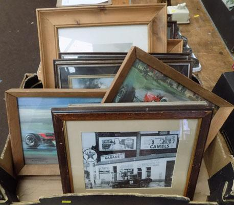 Box of pictures - railway/local