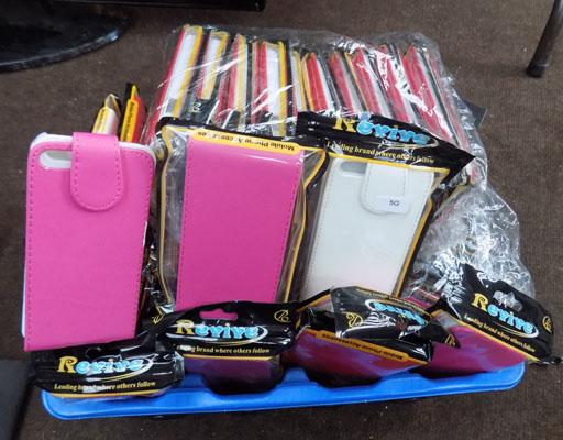 Box of mobile phone cases