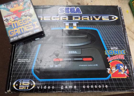 Limited Edition Mega Drive with games
