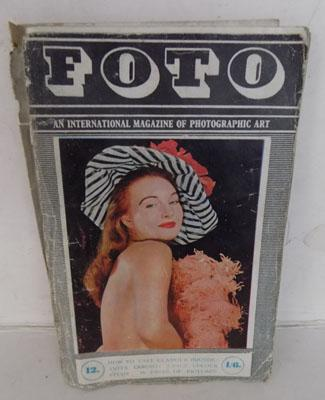 Vintage erotic magazine of nude models (FOTO) used and worn