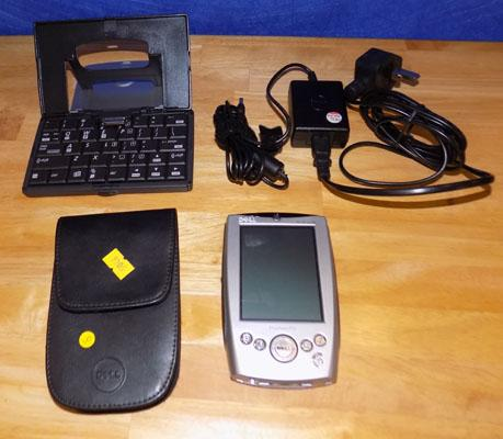 Dell Pocket PC, with keyboard & charger - W/O