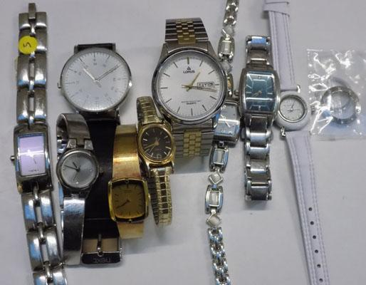 Selection of watches incl. Timex