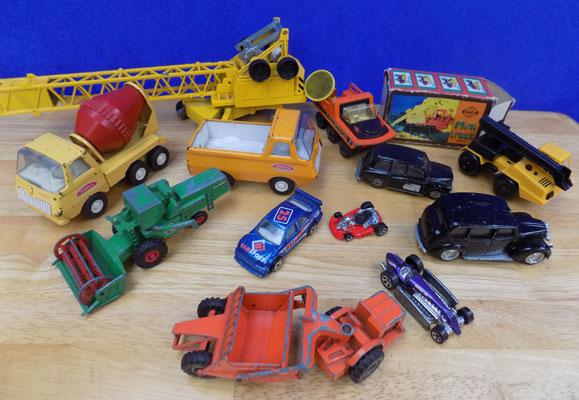 Selection of die-cast vehicles, incl. Lesney, Tonka etc...