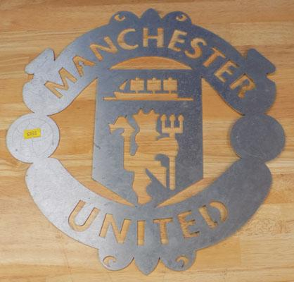 Manchester United metal original template/sign