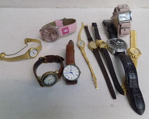 10 watches-various brands