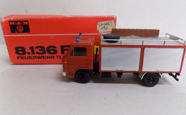 1970's boxed-Conrad Germany-man fire tender