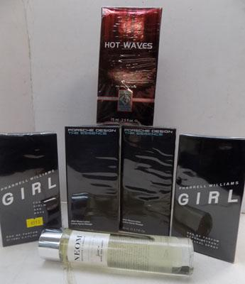 3x Aftershave & 3x perfumes-new & sealed