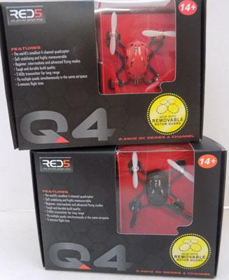 2x Worlds smallest 4 chanel Quadcopter retail £25 each