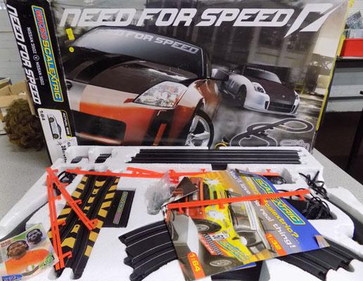 Scalextric-Need for speed-complete