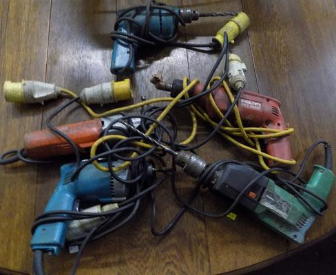 Box of power tools-untested