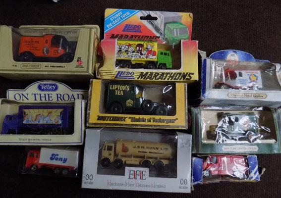 Selection of vintage boxed die-casts - incl. Tetley Tea