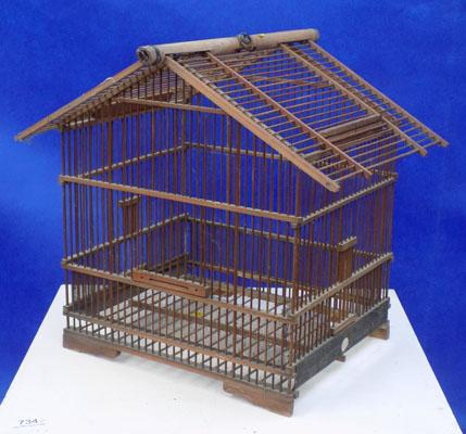 Vintage canary cage