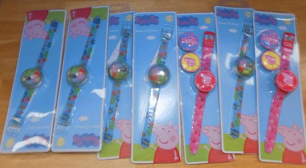 7 Peppa Pig watches