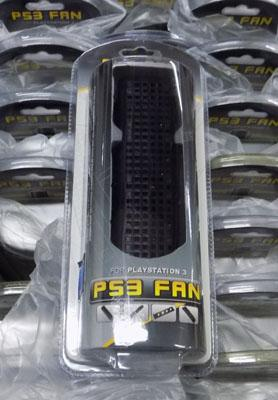 Box of new PS3 fans