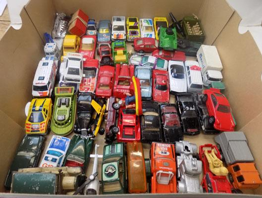 Collection of Dinky, Lesney, Matchbox & Corgi cars