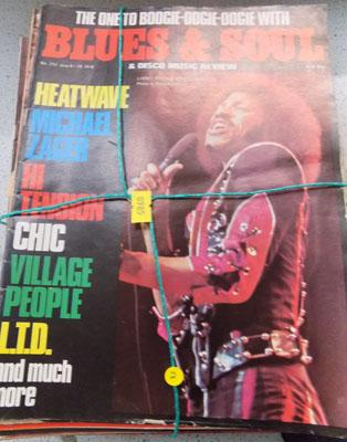 Record Collector magazines - incl. Blues & Soul