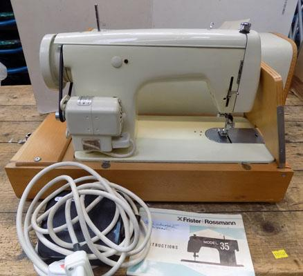 Frister-Rossman sewing machine industrial