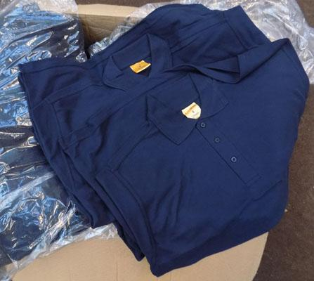 Large box of men's work ware polo shirts S/M/L/XL (new)