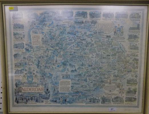 Picture of Bradford Calderdale map