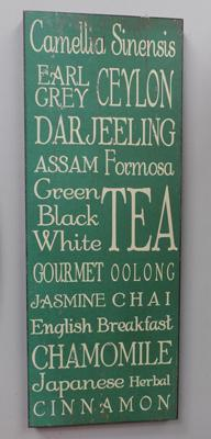 Cafe Tea sign - decorative