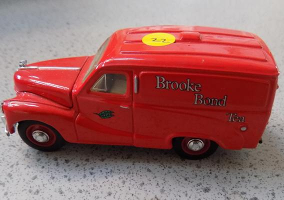 Dinky 1952 Austin A40, 10 cwt van-Brooke Bond tea