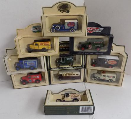 Selection of boxed diecasts