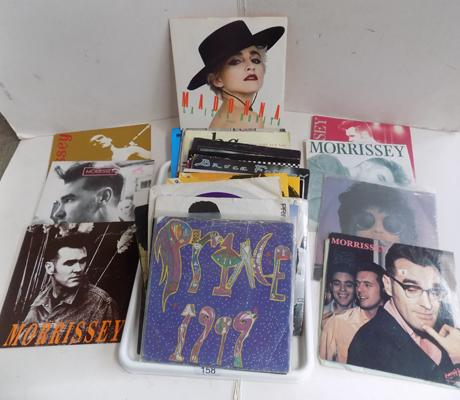 Collection of singles, incl. Morrissey, Smiths + Prince and many more