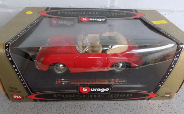 Porsche 356G Burago car in box
