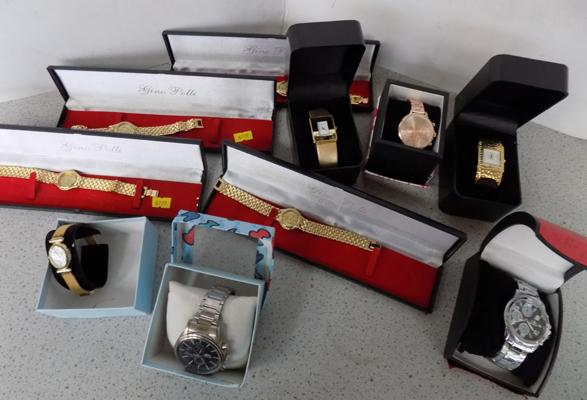 Selection of boxed watches - 10 in total