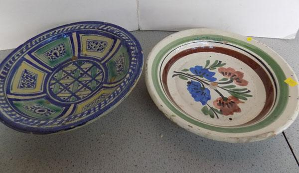 Two Turkish plates