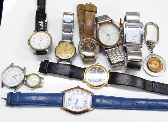 Collection of ladies & gents watches